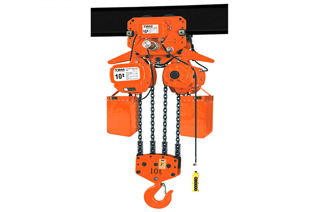 Electric Chain Hoist with Electric Trolley SHK-A/AM