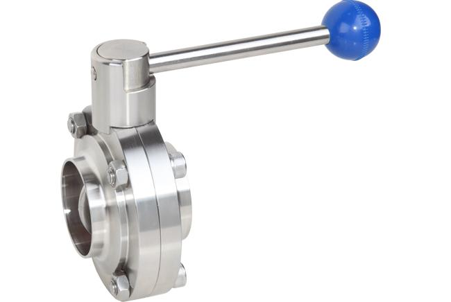 Saintary Grade Butterfly-Shaped Ball Valve