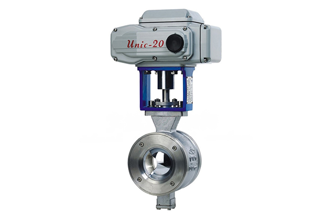 V Port Ball Valves