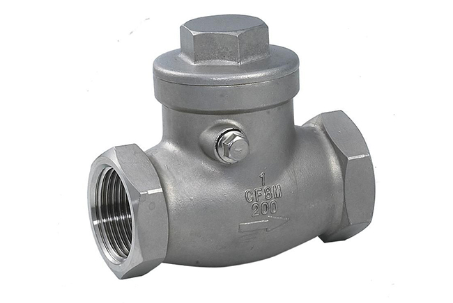 SS Threaded Check Valve