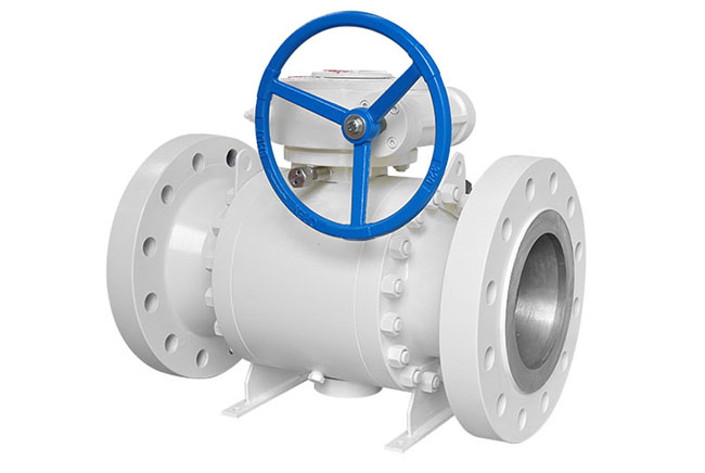 Metal seal wear resistant side enrty ball valve