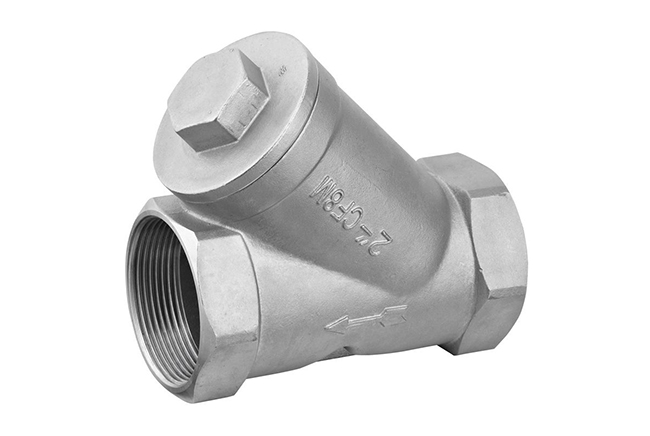 SS Threaded Strainer
