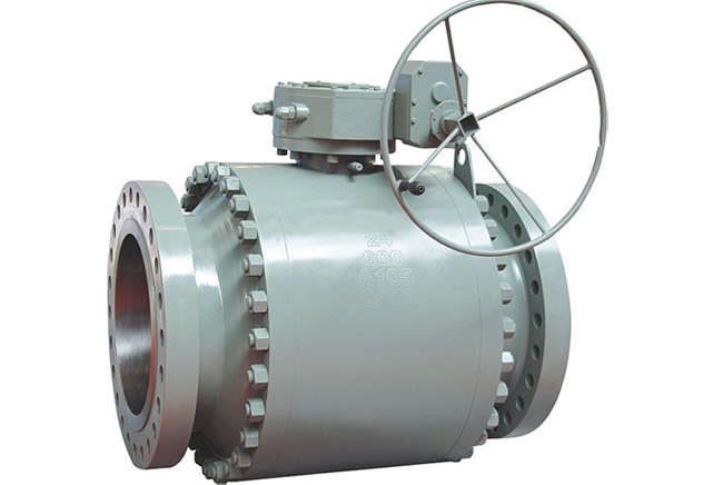 Sulfur-resistant side way ball valves in hydrogen environment
