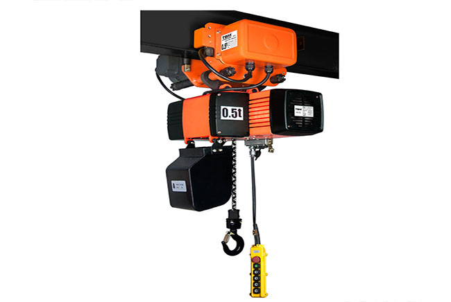 SHH 816 Electric Chain Hoist With Electrci Trolley