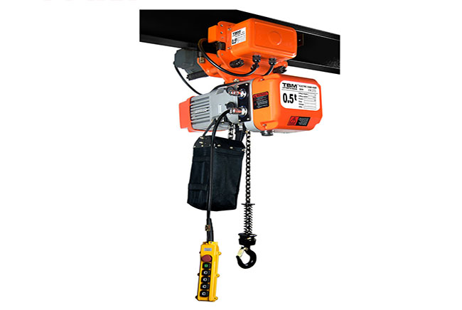 SHH-AM Electric Chain Hoist With Trolley